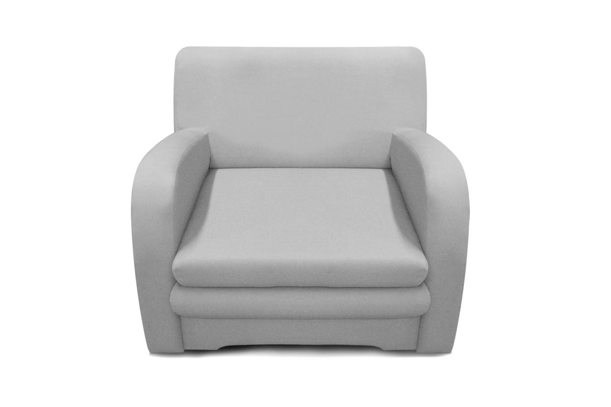 fotel koko 1 os szary z funkcją spania