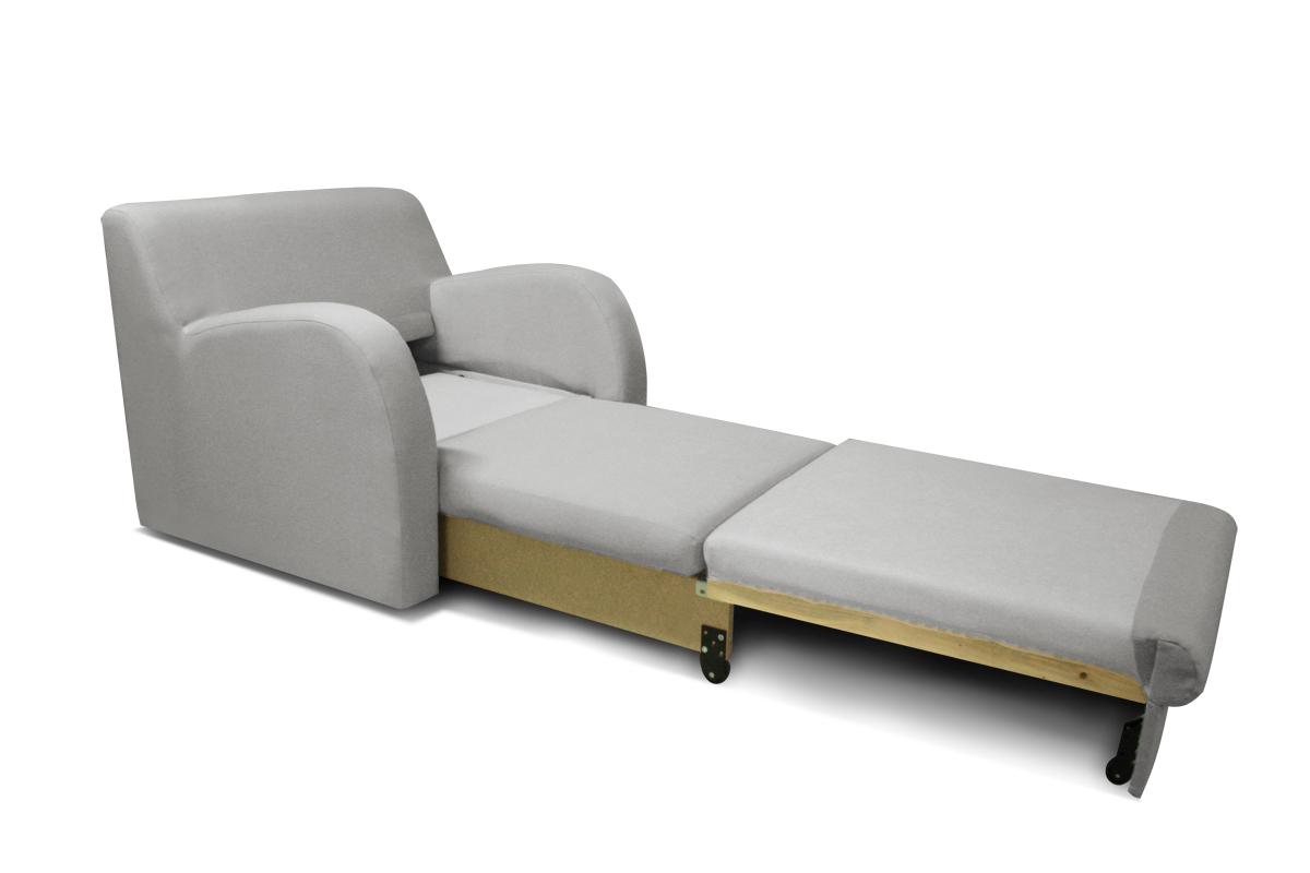 koko fotel funkcja spania rozłożony
