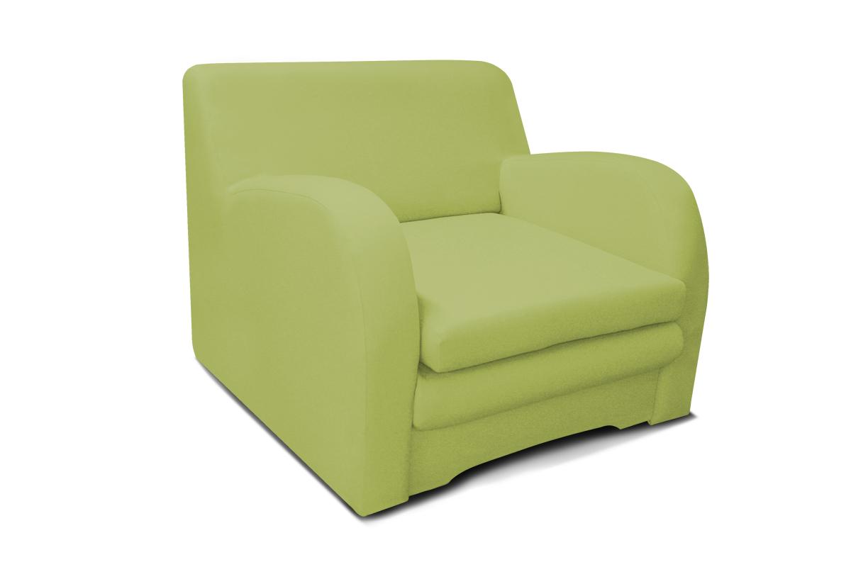 fotel koko zielony kolor z funkcją spania