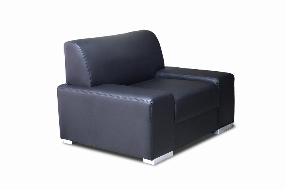 fotel maja czarny
