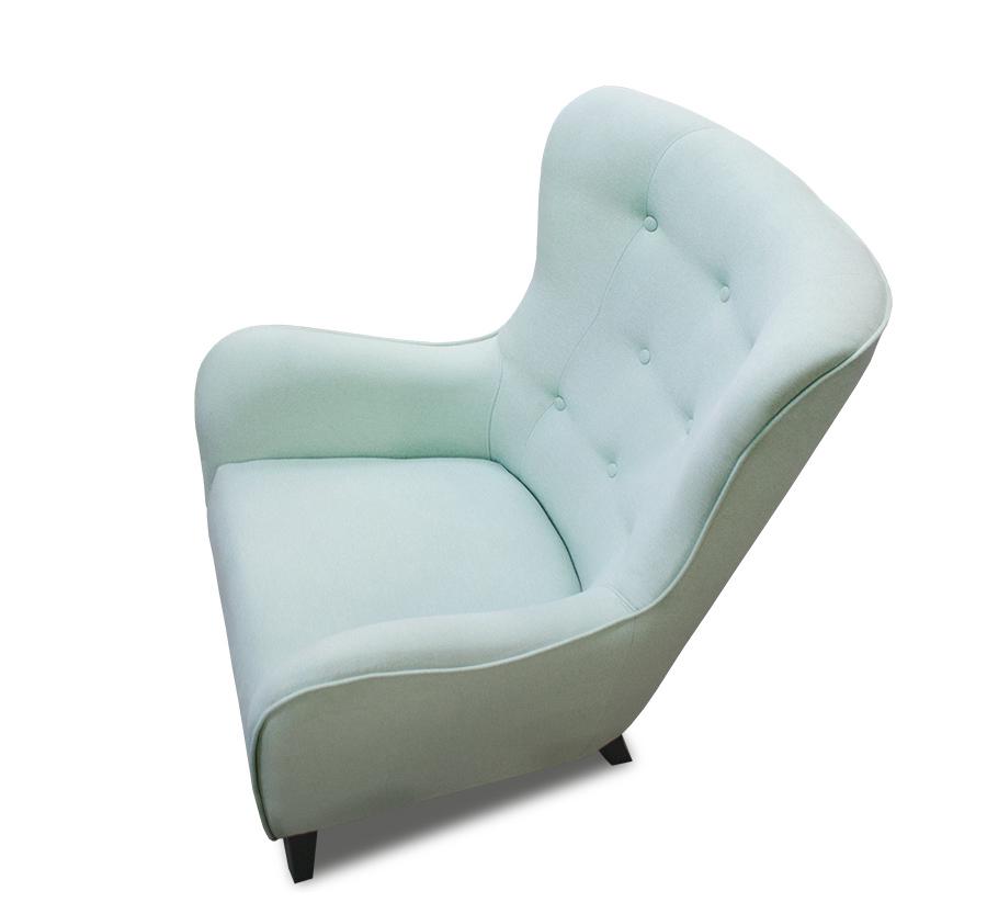 fotel provo z góry bok lewy