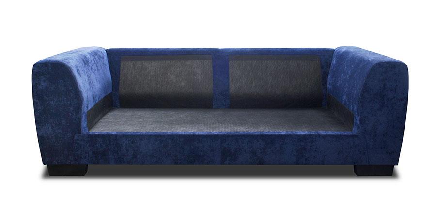 Möbel Sofa Ranger 3-Sitzer Holzbeine ohne Kissen