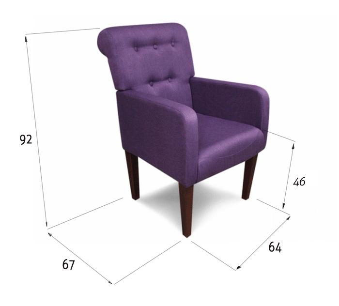 fotel styl art deco wymiary