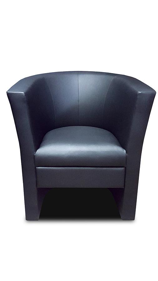 fotel bob czarny