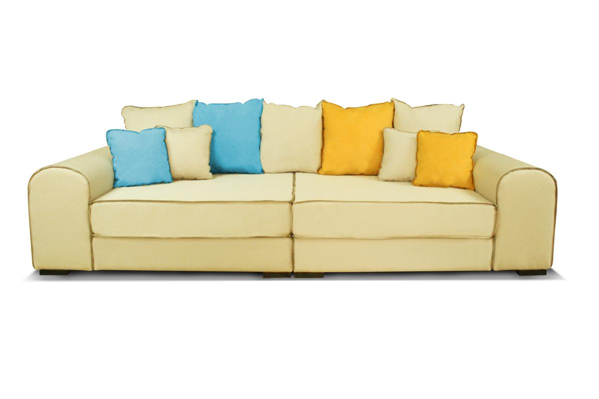 sofa bono kolorowe tapicerowane poduszki