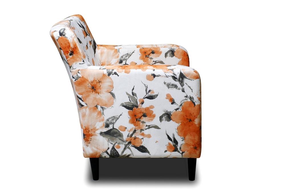fotel cambridge meble tapicerowane kwiaty