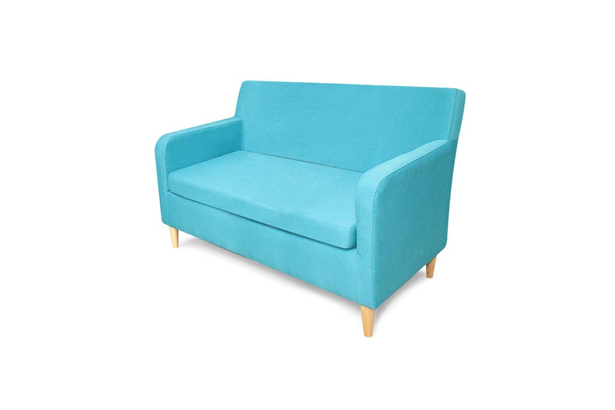 sofa cambridge niebieska tapicerka