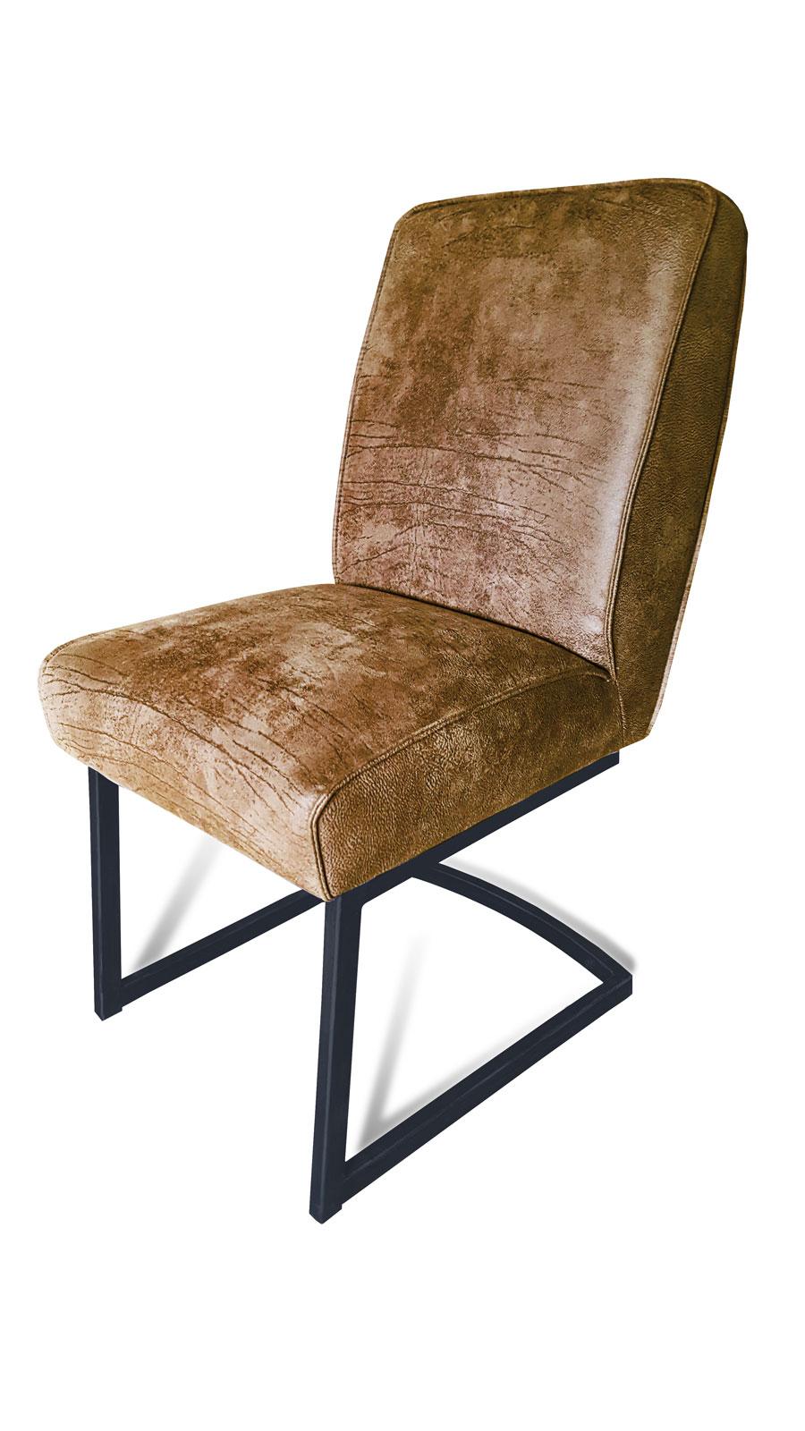 krzesło metalowe carry  bok