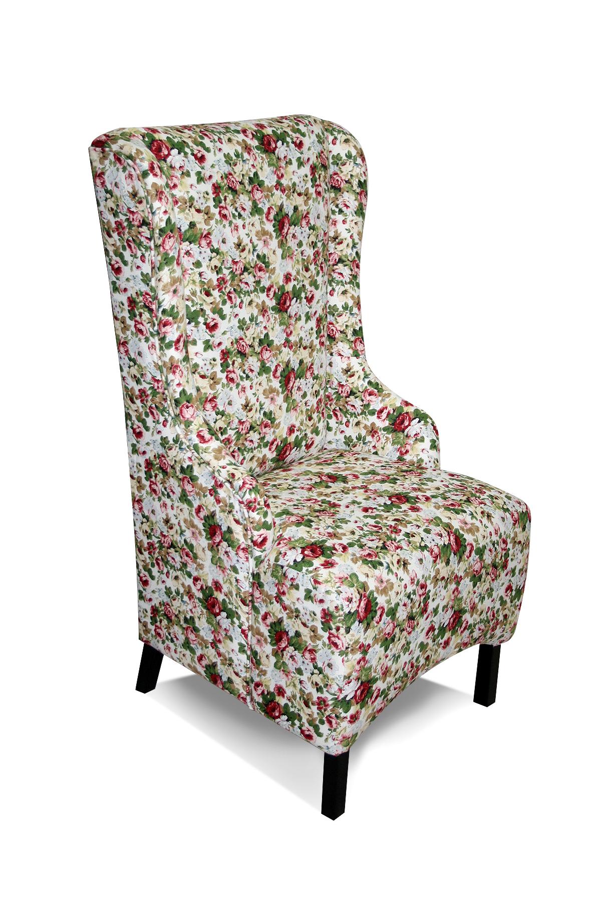 fotel fabio wzory kwiaty kolory