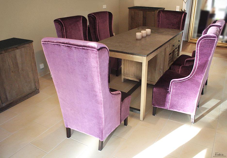 fabio fotele przy stole producent