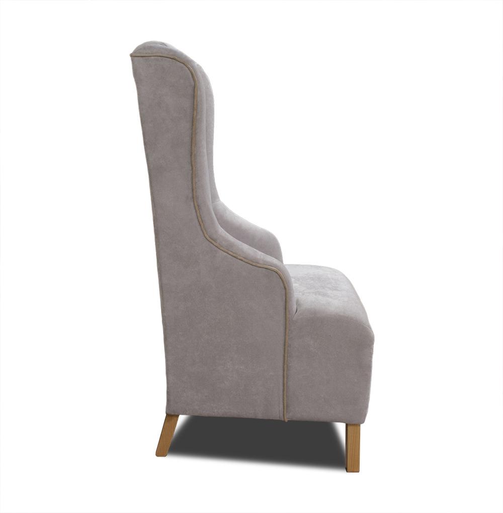 fotel fabio z boku beż emeble