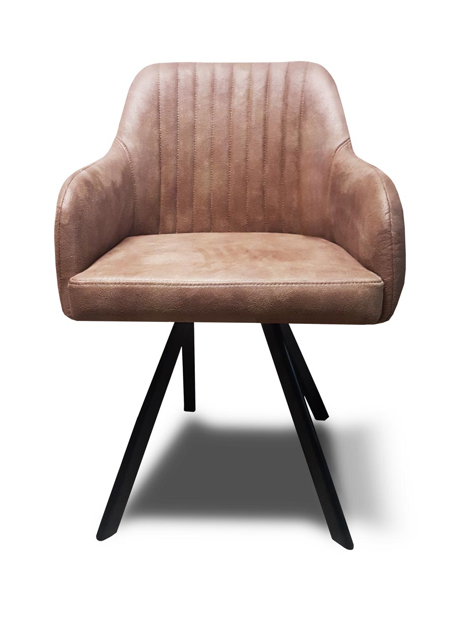 fotel floor metalowe nogi