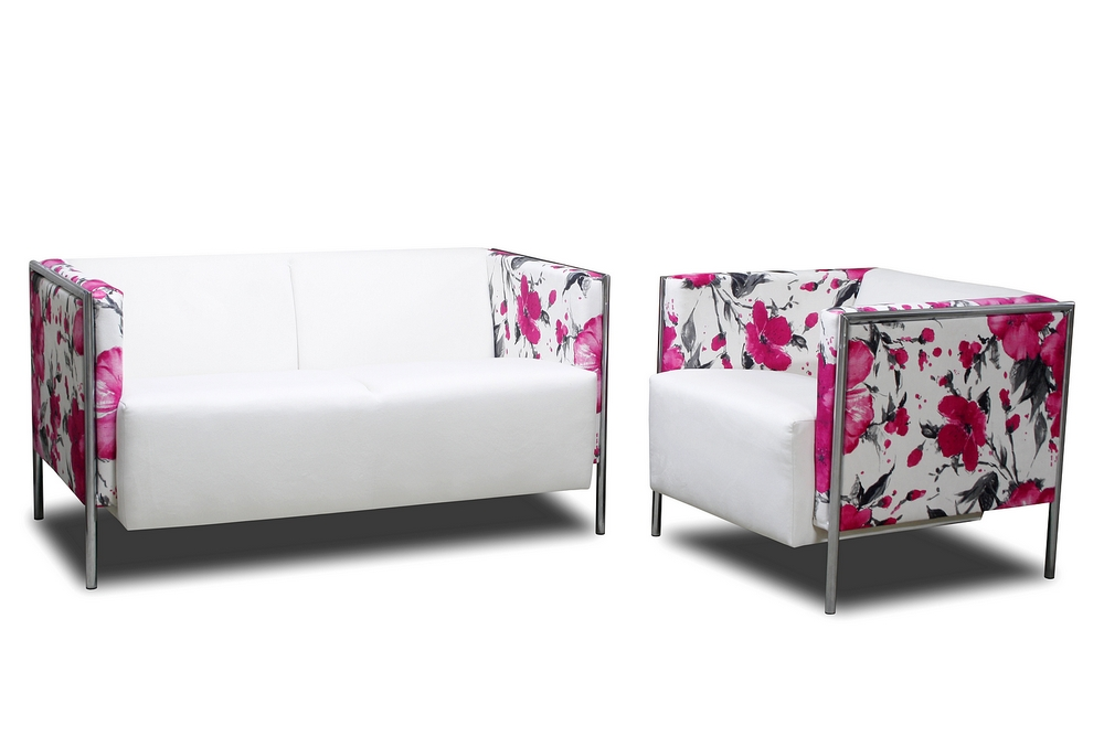sofa kempinski w kwiaty kempiński