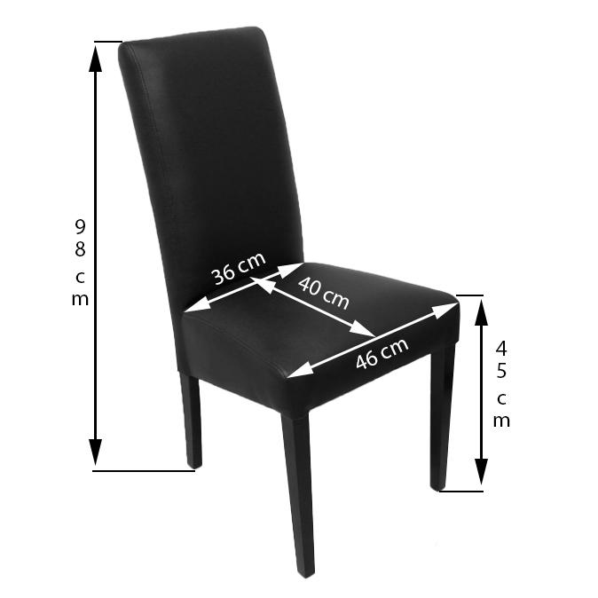 krzeslo roos Ros prosty