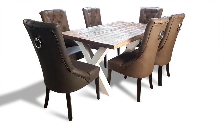 krzesła lancaster przy stole uchwyt całe