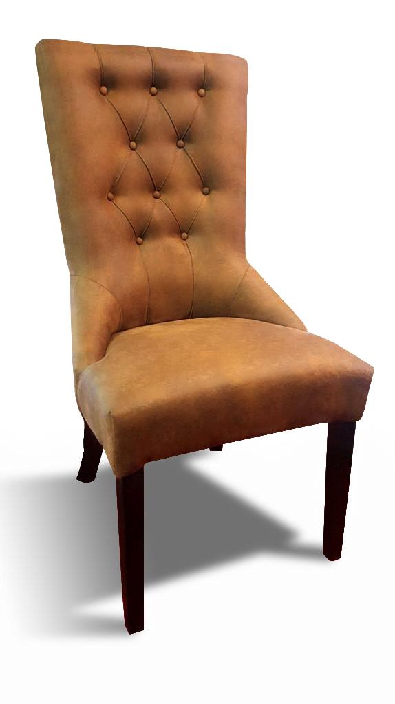 krzesło lancaster pomarańczowe przód