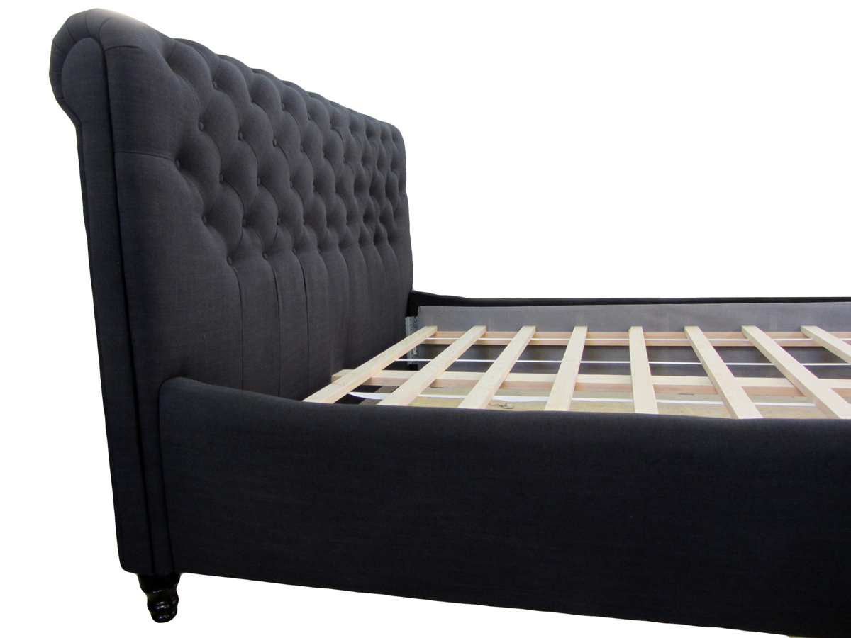łóżko verona 120 x 200 cm wysoka z boku