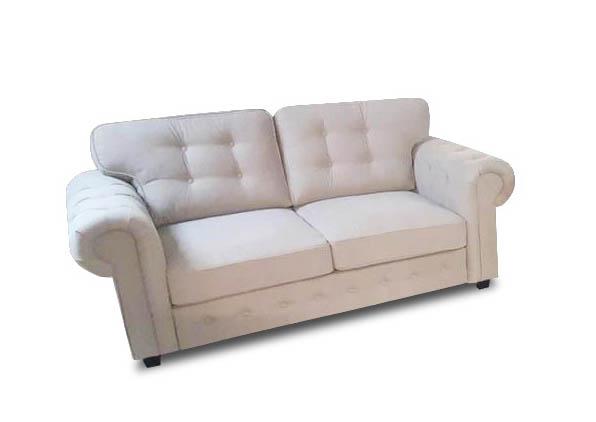 Odessa 2-Sitzer-Sofa helle Seite