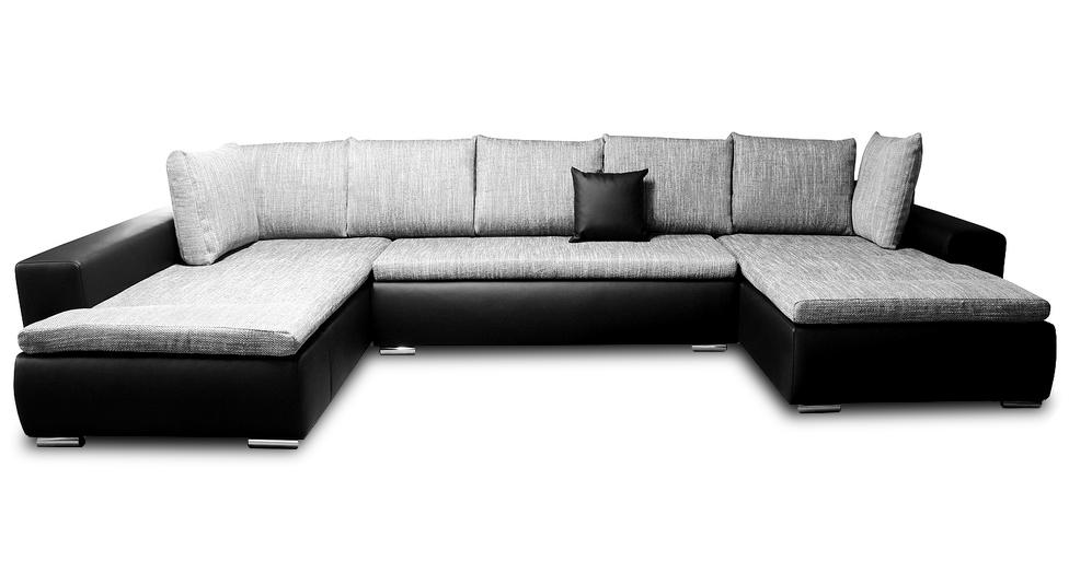 narożnik rewal emeble tapicerowane poduszki