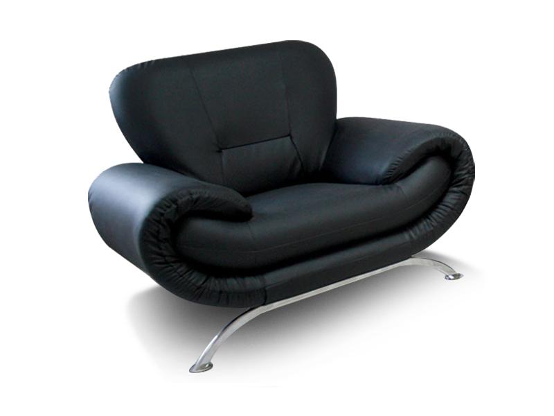 fotel Rina czarny emeble tapicerowane