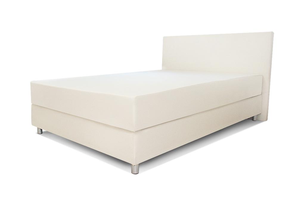 łóżko romans standard 90x200 cm białe małe materac