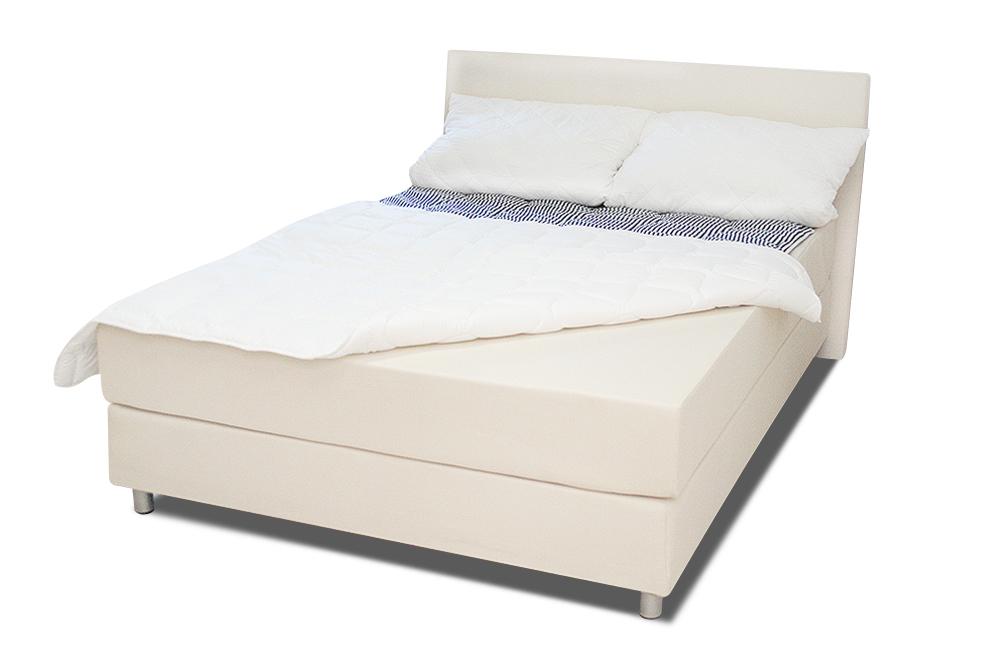łóżko romans standard 90x200 cm białe małe ekspozycja