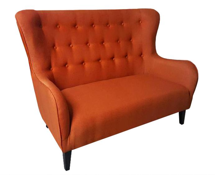 sofa provo 2 osobowa obicie krata