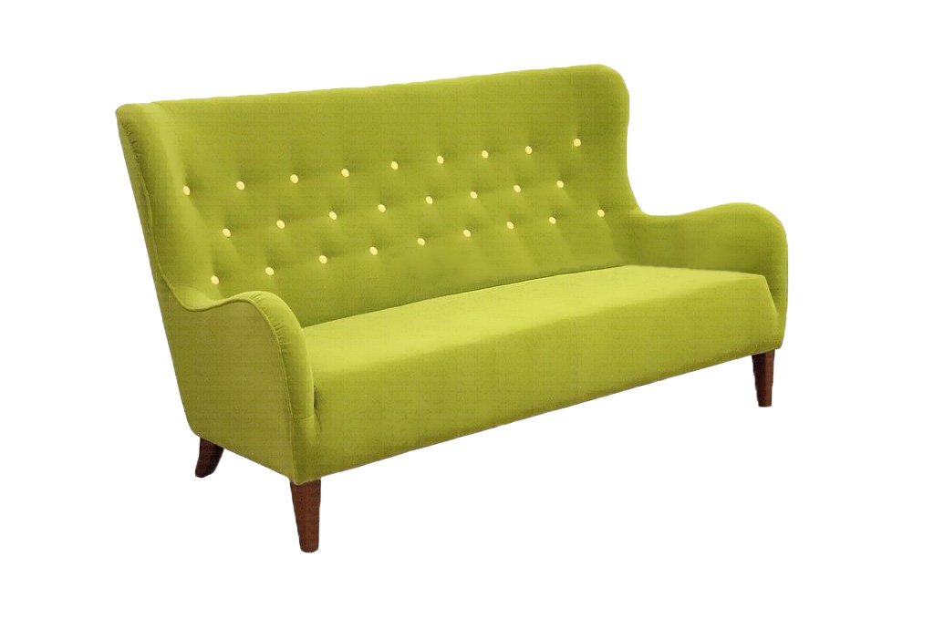 sofa provo 3osobowa zielona