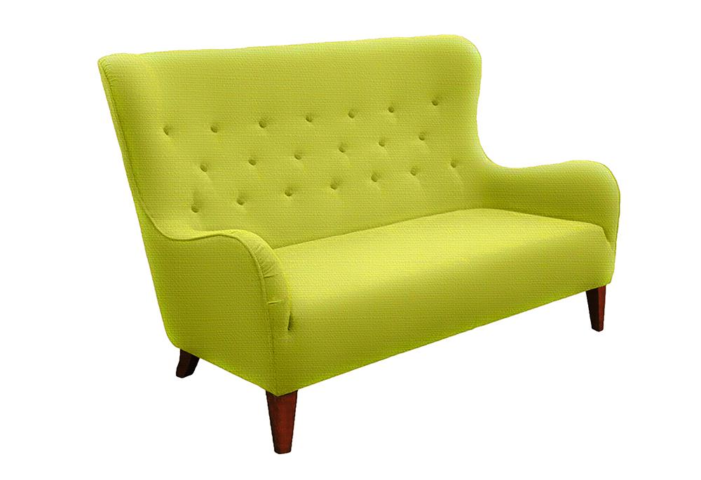 sofa provo 2 osobowa zielona